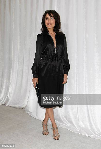 Actress Lisa Edelstein attends the 8th Annual Awards Season Diamond Fashion Show Preview hosted by the Diamond Information Center and InStyle held at...