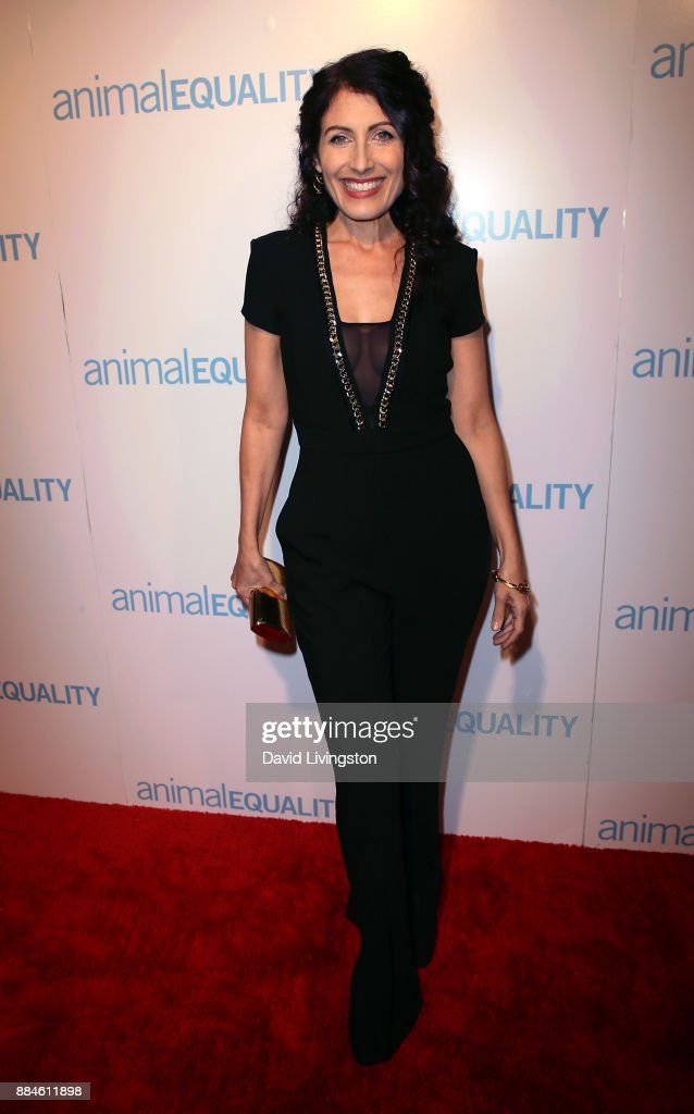 Actress Lisa Edelstein attends the Animal Equality Global Action annual gala at The Beverly Hilton Hotel on December 2, 2017 in Beverly Hills, California.