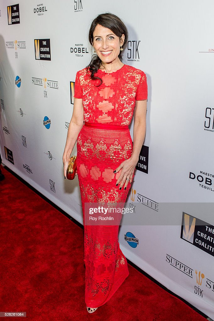 Actress Lisa Edelstein attends The Creative Coalition's Night Before Dinner at The Supper Suite by STK on April 29, 2016 in Washington, DC.