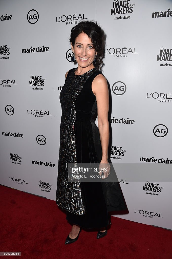 Actress Lisa Edelstein attends the inaugural Image Maker Awards hosted by Marie Claire at Chateau Marmont on January 12, 2016 in Los Angeles, California.