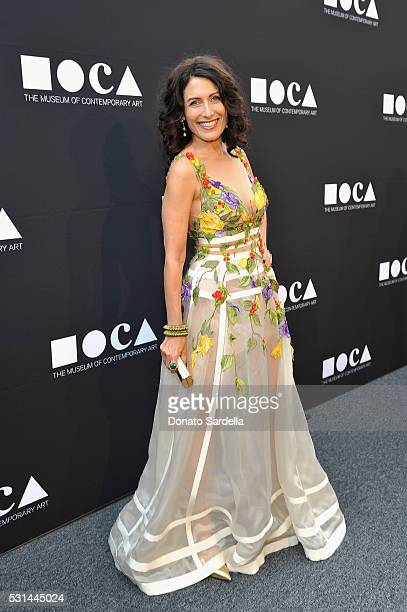 Actress Lisa Edelstein attends the MOCA Gala 2016 at The Geffen Contemporary at MOCA on May 14 2016 in Los Angeles California