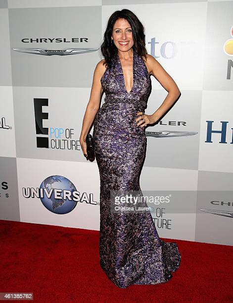 Actress Lisa Edelstein attends the NBCUniversal 2015 Golden Globe Awards Party sponsored by Chrysler at The Beverly Hilton Hotel on January 11 2015...