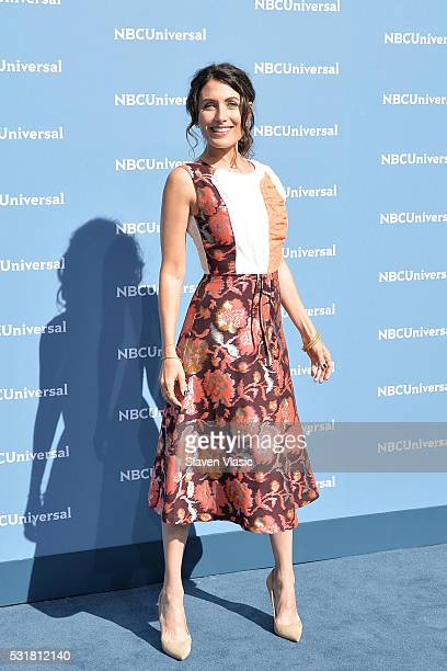Actress Lisa Edelstein attends the NBCUniversal 2016 Upfront Presentation on May 16 2016 in New York New York