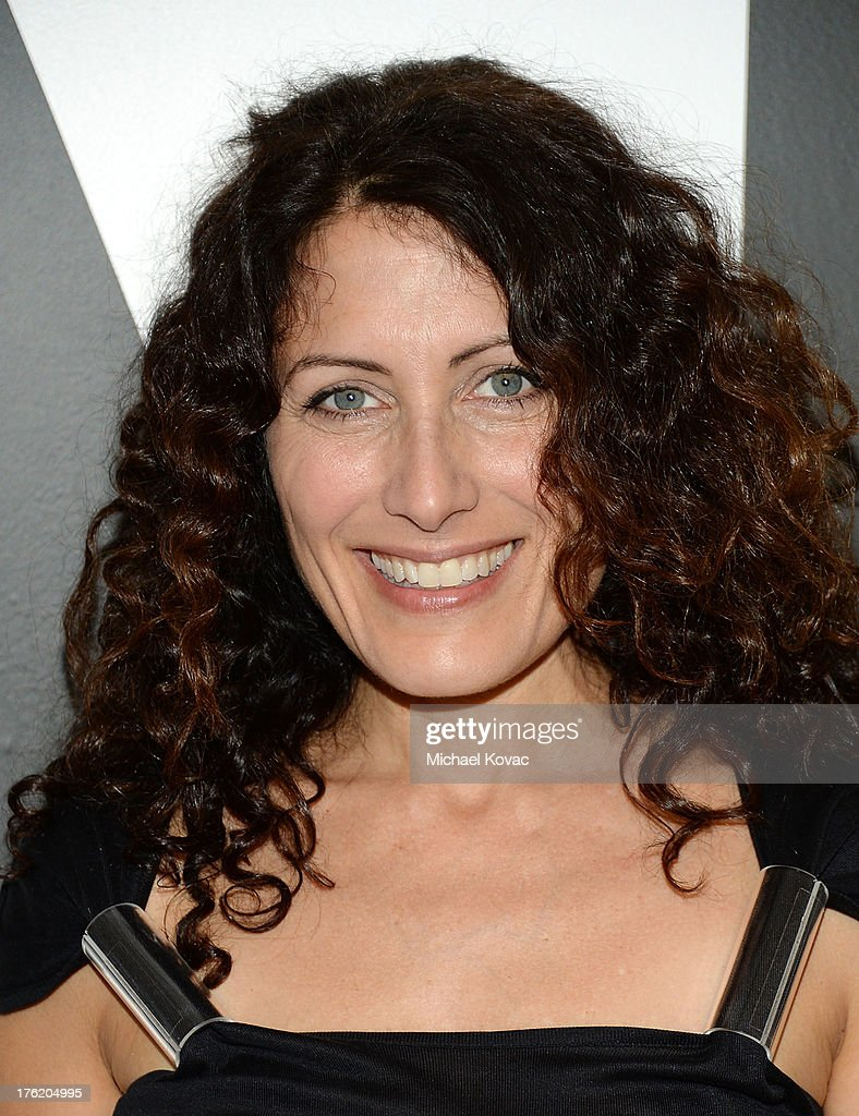Actress Lisa Edelstein attends the NKLA Pet Adoption Center Opening Celebration at the NKLA Pet Adoption Center on August 11, 2013 in Los Angeles, California.