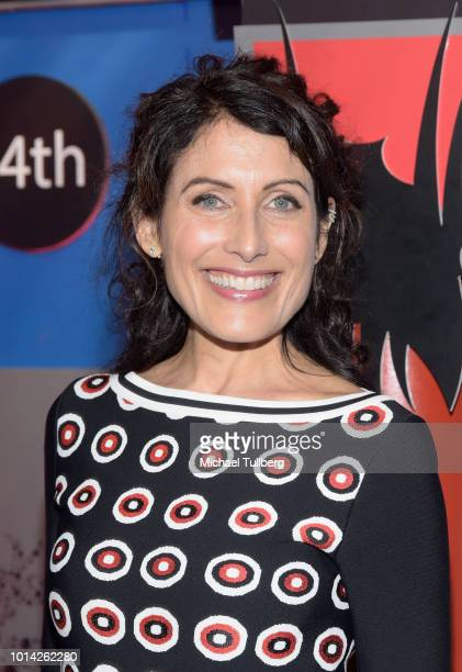 Actress Lisa Edelstein attends the opening night of the 14th HollyShorts Film Festival at TCL Chinese Theatre on August 9 2018 in Hollywood California