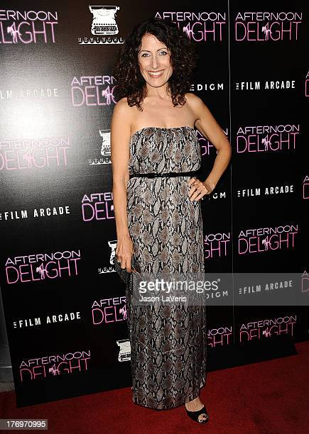 Actress Lisa Edelstein attends the premiere of 'Afternoon Delight' at ArcLight Hollywood on August 19 2013 in Hollywood California