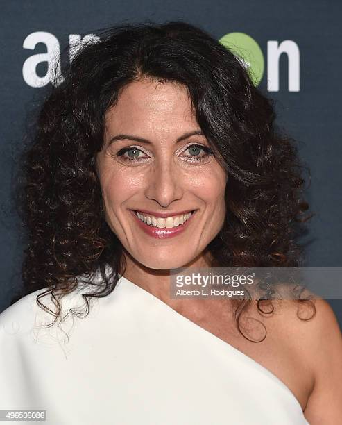 Actress Lisa Edelstein attends the Premiere Of Amazon's 'Transparent' Season 2 at SilverScreen Theater at the Pacific Design Center on November 9...