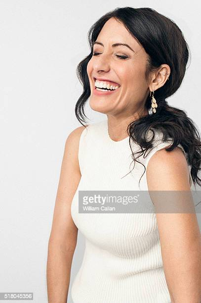 Actress Lisa Edelstein is photographed for The Wrap on February 11 2016 in Los Angeles California PUBLISHED IMAGE