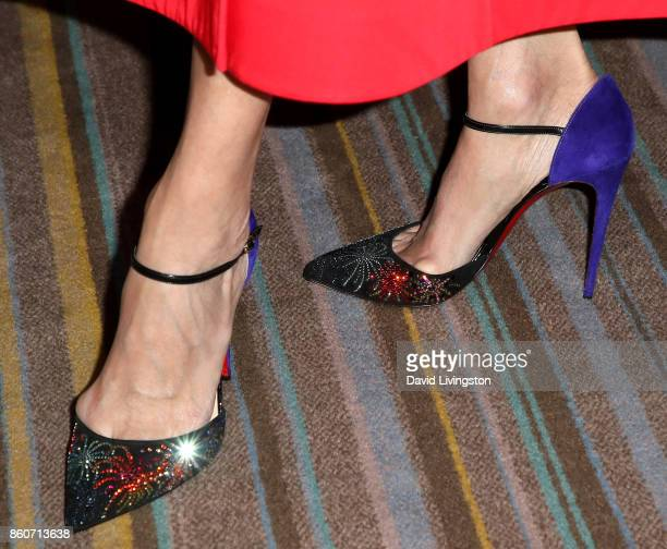 Actress Lisa Edelstein shoe detail attends Paley Honors in Hollywood A Gala Celebrating Women in Television at the Beverly Wilshire Four Seasons...