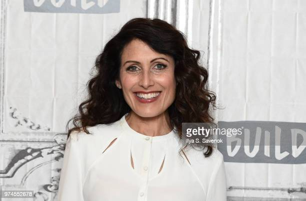 Actress Lisa Edelstein visits Build Series to promote 'Girlfriend's Guide to Divorce' at Build Studio on June 14 2018 in New York City