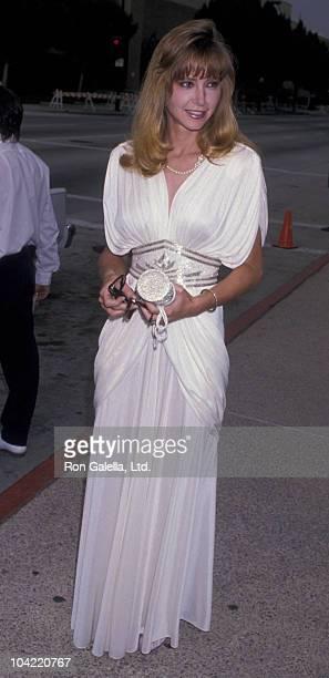Actress Lisa Eilbacher attends 41st Annual Primetime Emmy Awards on September 16 1989 at the Pasadena Civic Auditorium in Pasadena California