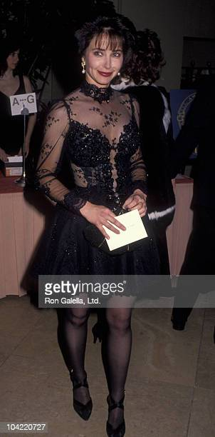 Actress Lisa Eilbacher attends 42nd Annual Eddie Awards on March 21 1992 at the Beverly Hilton Hotel in Beverly Hills California