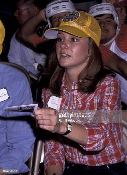 Actress Lisa Eilbacher attends Special Olympics Benefit on June 2 1977 at UCLA Campus in Westwood California