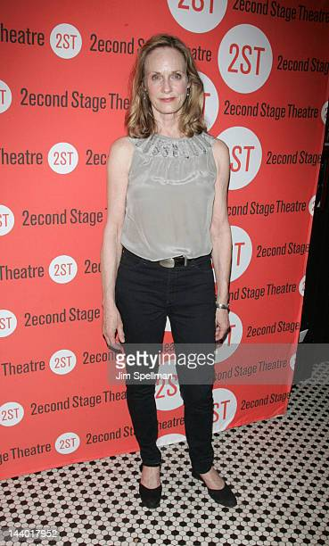 Actress Lisa Emery attends the Lonely I'm Not OffBroadway opening night after party at the HB Burger on May 7 2012 in New York City