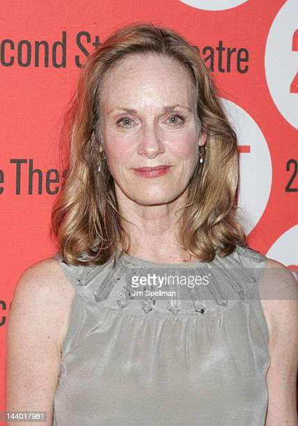 """Actress Lisa Emery attends the """"Lonely, I'm Not"""" Off-Broadway opening night after party at the HB Burger on May 7, 2012 in New York City."""