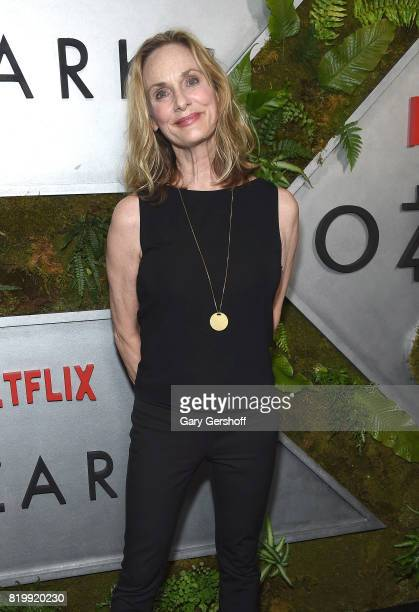 """Actress Lisa Emery attends the """"Ozark"""" New York screening at The Metrograph on July 20, 2017 in New York City."""