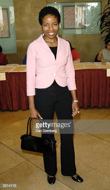 Actress Lisa Gay Hamilton arrives at the ACLU Foundation of Southern California Torch of Liberty Awards Dinner at the Beverly Hilton Hotel on May 19...