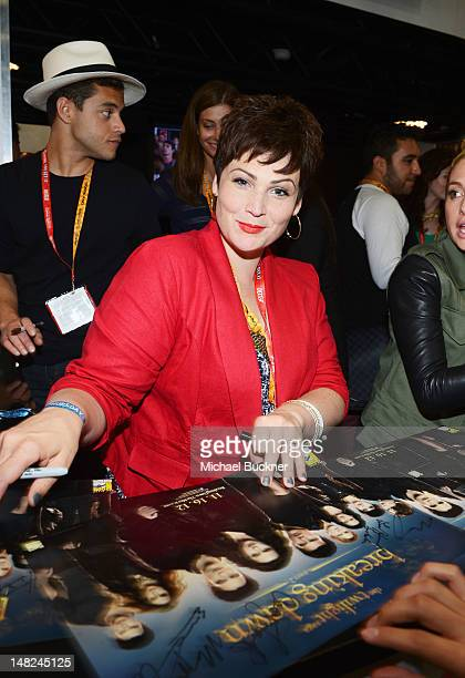Actress Lisa Howard attends The Twilight Saga Breaking Dawn Part 2 during ComicCon International 2012 at San Diego Convention Center on July 12 2012...