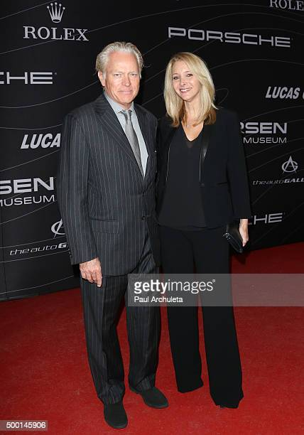 Actress Lisa Kudrow and her Husband Michel Stern attend the Petersen Automotive Museum grand reopening gala at Petersen Automotive Museum on December...