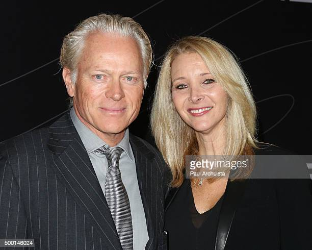Actress Lisa Kudrow and her Husband Michel Stern attend the Petersen Automotive Museum grand re-opening gala at Petersen Automotive Museum on...