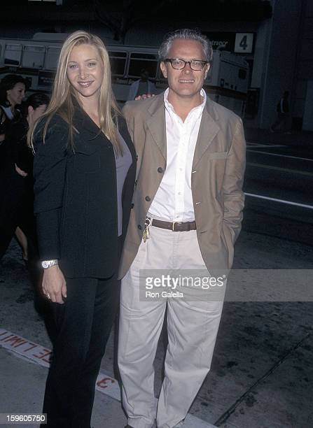 Actress Lisa Kudrow and husband Michel Stern attend 'The Opposite Sex' Santa Monica Premiere on May 19 1998 at the Laemmle Monica 4plex in Santa...