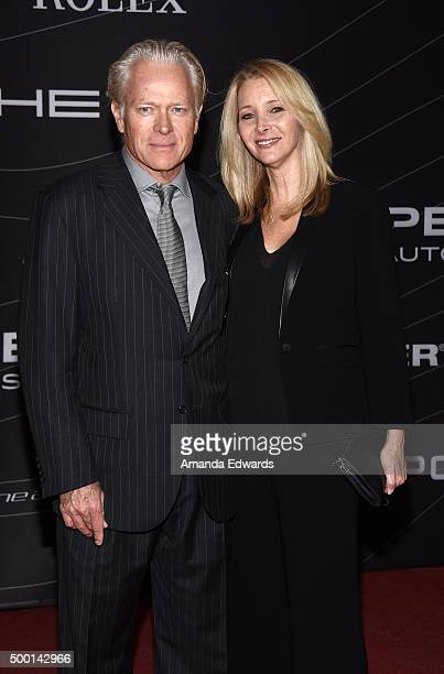 Actress Lisa Kudrow and Michel Stern arrive at the Petersen Automotive Museum Grand Re-Opening at the Petersen Automotive Museum on December 5, 2015...