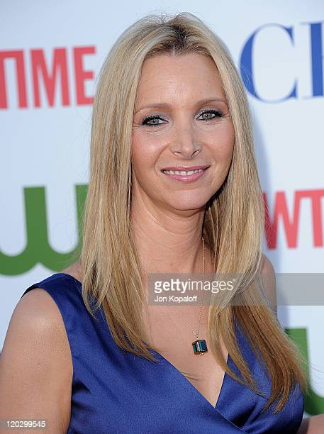 Actress Lisa Kudrow arrives at the 2011 TCA Summer Press Tour CBS The CW Showtime at The Pagoda on August 3 2011 in Beverly Hills California