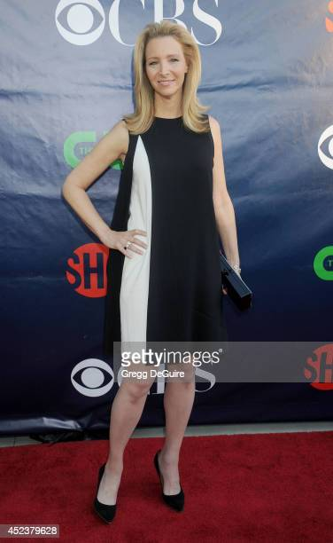 Actress Lisa Kudrow arrives at the 2014 Television Critics Association Summer Press Tour CBS CW And Showtime Party at Pacific Design Center on July...