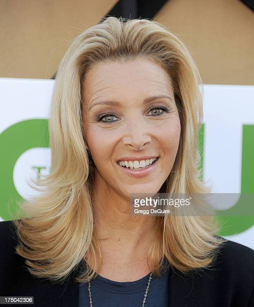 Actress Lisa Kudrow arrives at the CBS/CW/Showtime Television Critic Association's summer press tour party at 9900 Wilshire Blvd on July 29 2013 in...