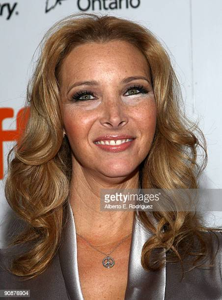 Actress Lisa Kudrow arrives at the 'Love And Other Possible Pursuits' screening during the 2009 Toronto International Film Festival held at Roy...