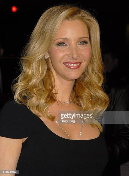 Actress Lisa Kudrow arrives at the Premiere of PS I Love You at Grauman's Chinese Theatre on December 9 2007 in Hollywood California