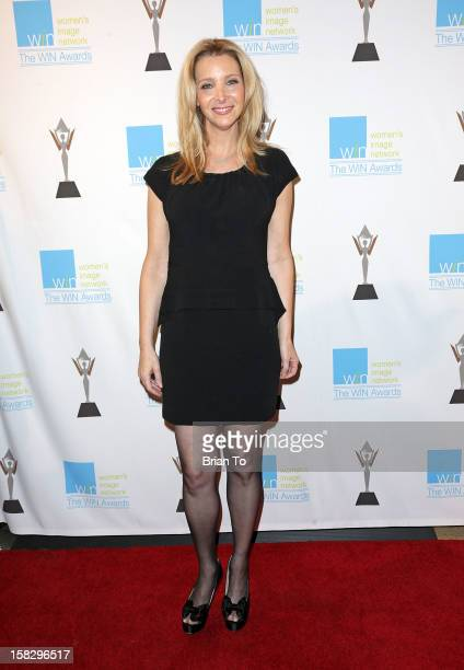 Actress Lisa Kudrow attends The 14th a annual Women's Image Network awards at Paramount Theater on the Paramount Studios lot on December 12 2012 in...