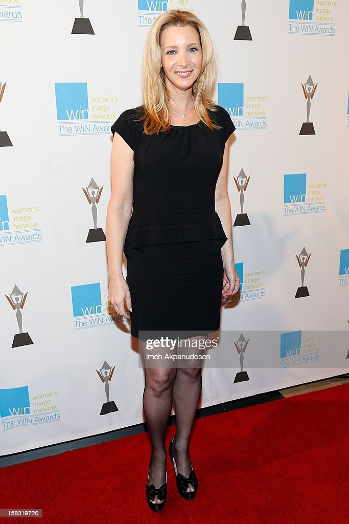 Actress Lisa Kudrow attends the 14th Annual Women's Image Network Awards at Paramount Theater on the Paramount Studios lot on December 12, 2012 in Hollywood, California.