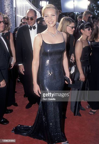 Actress Lisa Kudrow attends the 51st Annual Primetime Emmy Awards on September 12 1999 at the Shrine Auditorium in Los Angeles California