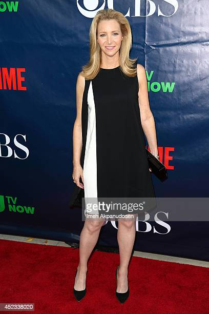 Actress Lisa Kudrow attends the CBS The CW Showtime CBS Television Distribution's 2014 TCA Summer Press Tour Party at Pacific Design Center on July...