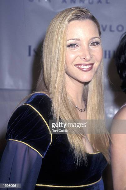 Actress Lisa Kudrow attends the Eighth Annual Fire Ice Ball to Benefit the Revlon/UCLA Women's Cancer Research Program on December 3 1997 at the...