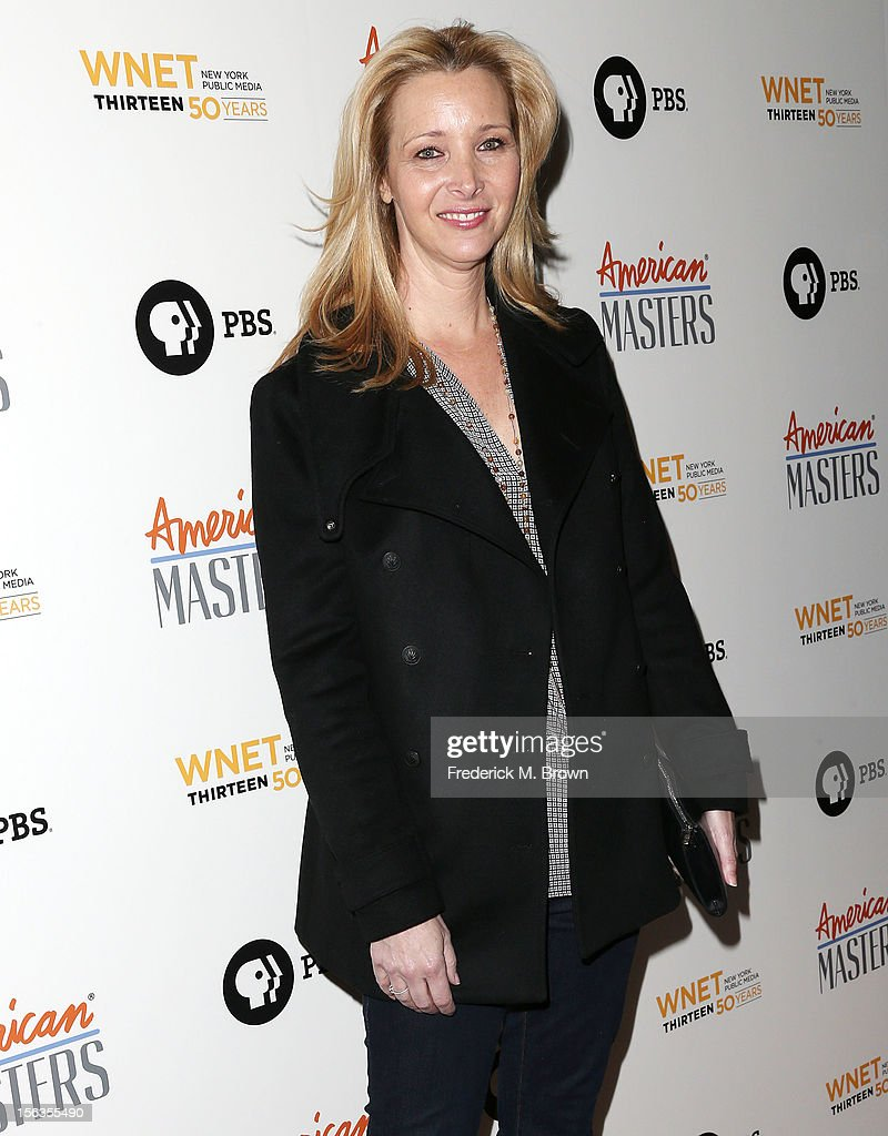 Actress Lisa Kudrow attends the Premiere Of 'American Masters Inventing David Geffen' at The Writers Guild of America on November 13, 2012 in Beverly Hills, California.