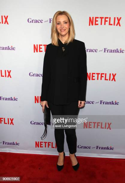 Actress Lisa Kudrow attends the premiere of Netflix's 'Grace and Frankie' Season 4 at ArcLight Cinemas on January 18 2018 in Culver City California