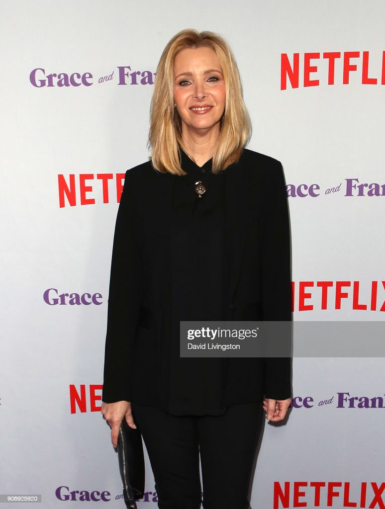 Actress Lisa Kudrow attends the premiere of Netflix's 'Grace and Frankie' Season 4 at ArcLight Cinemas on January 18, 2018 in Culver City, California.