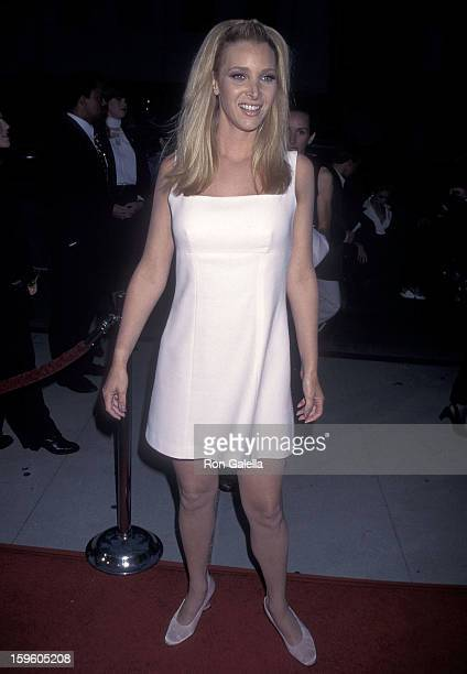 Actress Lisa Kudrow attends the Screening of the HBO Original Movie 'Norma Jean Marilyn' on May 15 1996 at the Academy of Motion PIcture Arts...