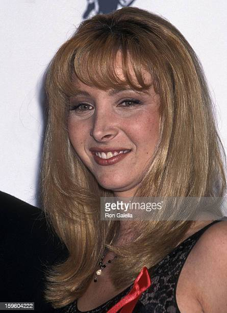 Actress Lisa Kudrow attends the Second Annual Screen Actors Guild Awards on February 24 1996 at the Santa Monica Civic Auditorium in Santa Monica...