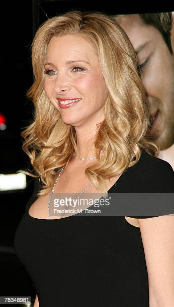 Actress Lisa Kudrow attends the Warner Bros' film premiere of 'PS I Love You' at Grauman's Chinese Theatre on December 9 2007 in Hollywood California