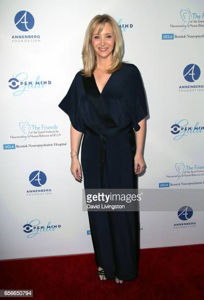 Actress Lisa Kudrow attends UCLA's Semel Institute's Biannual Open Mind Gala at The Beverly Hilton Hotel on March 22 2017 in Beverly Hills California