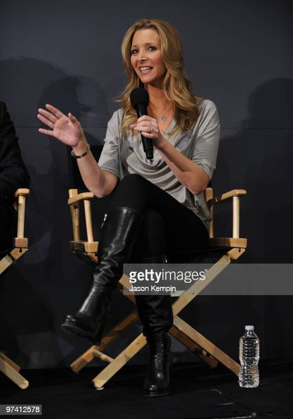 Actress Lisa Kudrow promotes Who Do You Think You Are at the Apple Store Soho on March 3 2010 in New York City