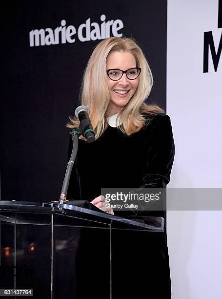 Actress Lisa Kudrow speaks onstage during Marie Claire's Image Maker Awards 2017 at Catch LA on January 10 2017 in West Hollywood California