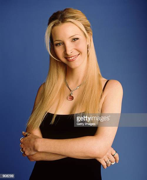 "Actress Lisa Kudrow star as Phoebe Buffay of NBC's comedy series ""Friends."""