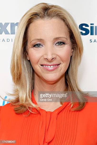 Actress Lisa Kudrow visits the SiriusXM Studios on July 23 2013 in New York City