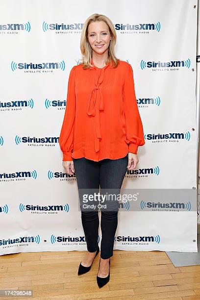 Actress Lisa Kudrow visits the SiriusXM Studios on July 23 2013 in New York City