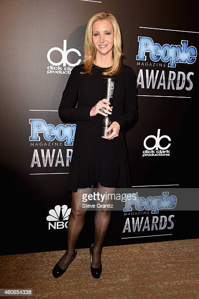 Actress Lisa Kudrow winner of the TV Actress of the Year Award poses in the press room during the PEOPLE Magazine Awards at The Beverly Hilton Hotel...