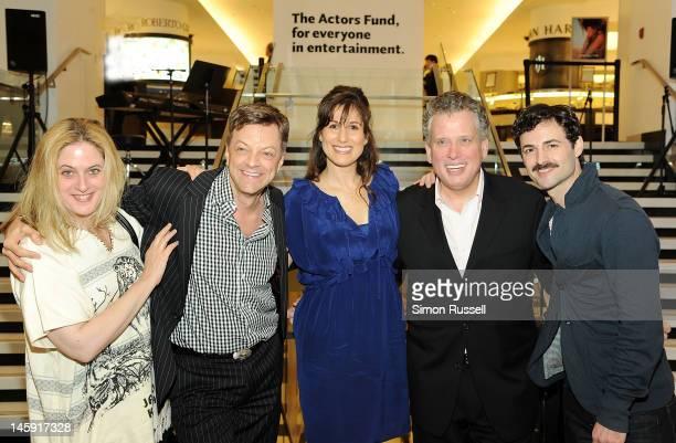 Actress Lisa Lambert Six Time MAC AwardWinner Jim Caruso broadway actress Stephanie J Block Grammy Award winning composer and vocalist Billy Stritch...
